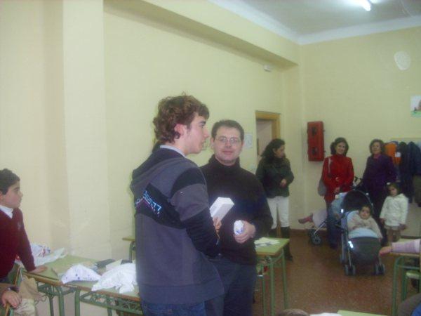 Campeón del torneo de ajedrez Manuel Reina 2010
