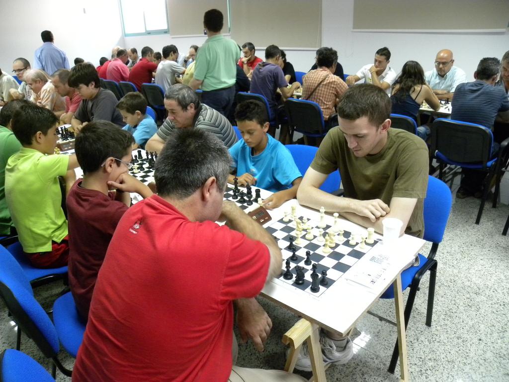 Torneo Ajedrez Feria Puente Genil 2010