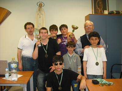 Torneo de Ajedrez Virgen Desamparados 2011