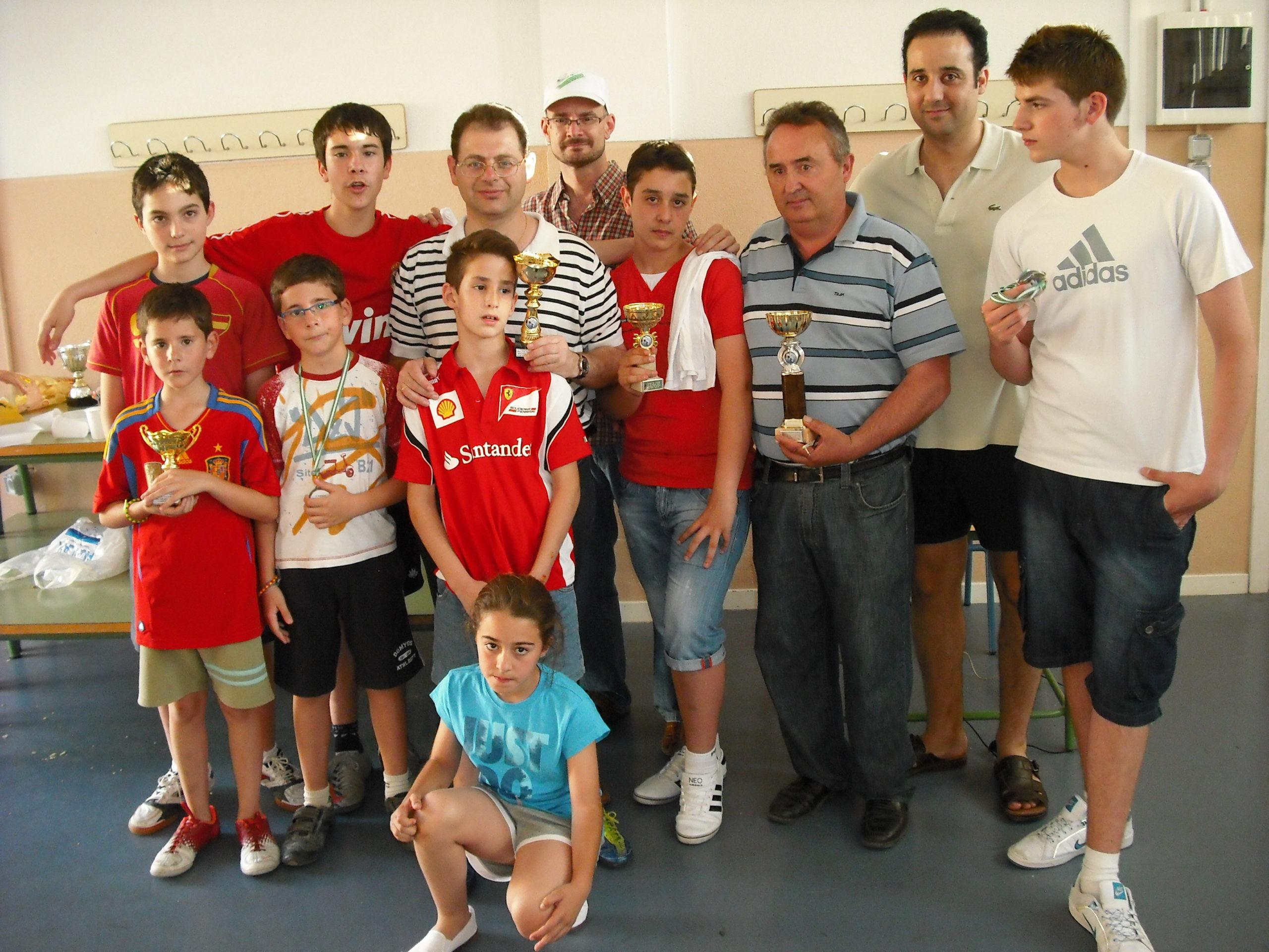 Torneo Ajedrez Relampago Villa Puente Genil 2012