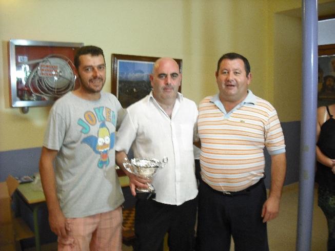 Torneo Ajedrez Virgen de los Llanos La Roda 2012