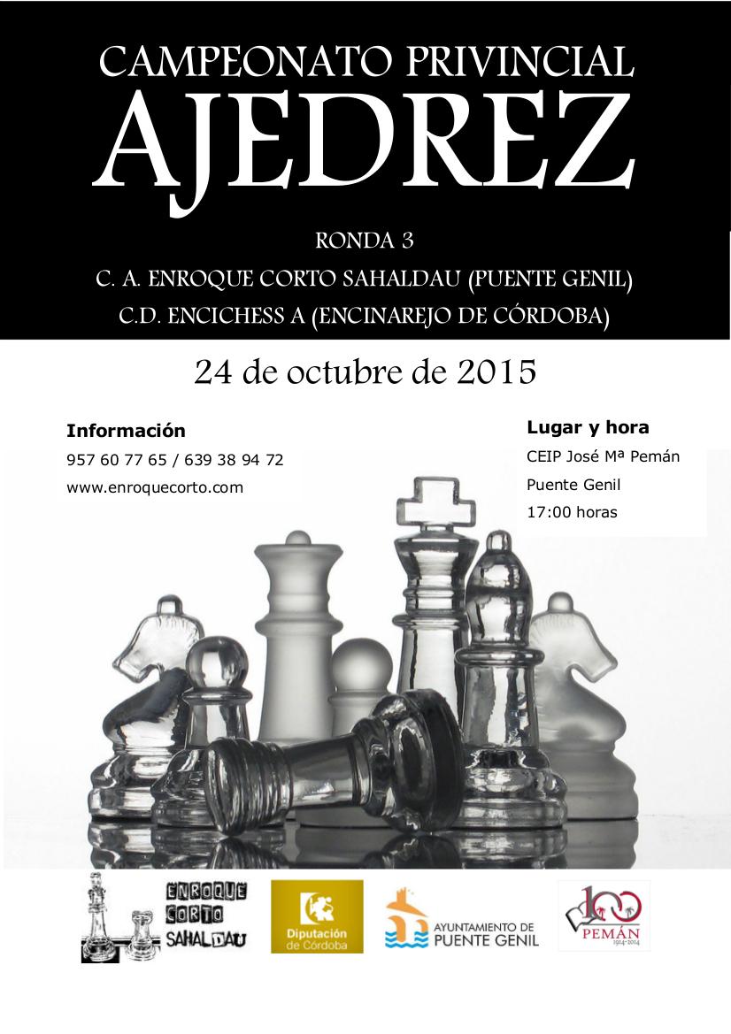 Torneo Ajedrez Provincial Cordoba por Equipos Absoluto 2015 ronda 3
