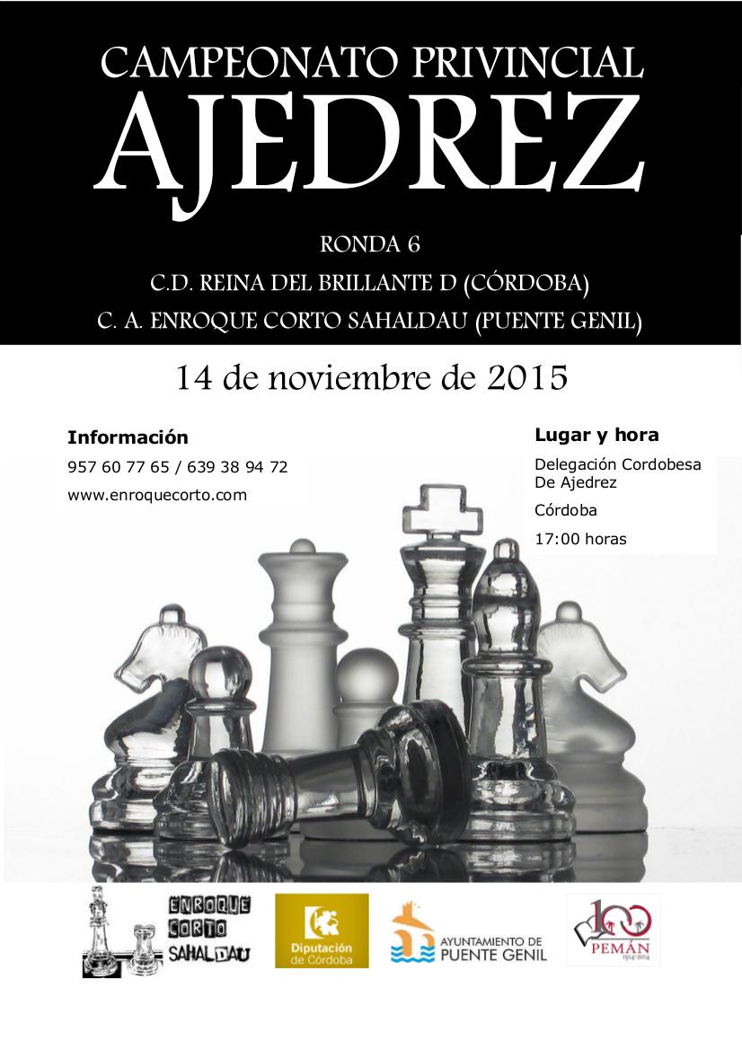 Torneo Ajedrez Provincial Cordoba por Equipos Absoluto 2015 ronda 6