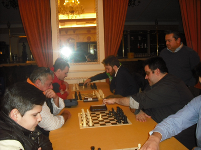I Campeonato Provincial por Equipos de Ajedrez Rapido de Cordoba 2016
