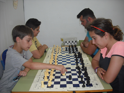 Torneo Ajedrez IES Manuel Reina 2016