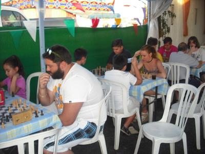 Torneo Ajedrez  Caseta Santisimo Feria 2017