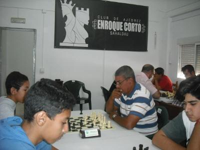 Torneo Ajedrez 25 Aniversario Club Enroque Corto Sahaldau