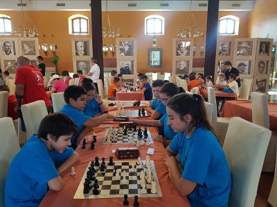 Torneo Ajedrez Copa Diputacion Cordoba Equipos sub-14 Puente Genil