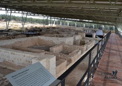 Yacimiento arqueologico Fuente Alamo Puente Genil