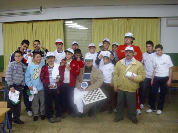 Clasificación Torneo de Ajedrez Navidad 2009 de Puente Genil