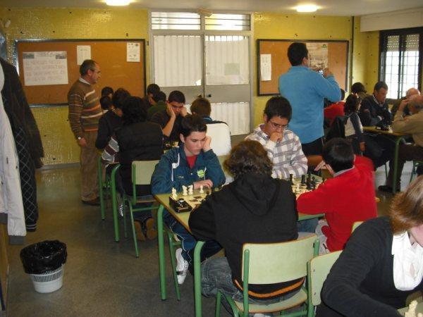 Torneo de Ajedrez IES Aguilar y Cano Estepa 2010