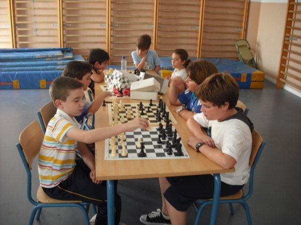 Clasificación Juegos Deportivos Municipales de Ajedrez 2010