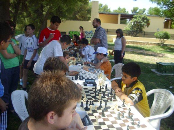 Clasificación Torneo de Ajedrez Fiesta de la Primavera 2010