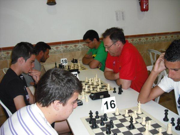 """Torneo de Ajedrez """"I Memorial de Ajedrez Manuel Espinosa y Agustín Rodríguez"""" de Pedrera 2010"""