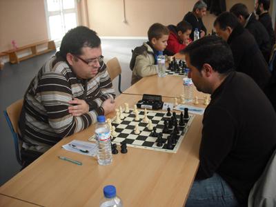 5ª ronda del Campeonato Provincial de Ajedrez por Equipos 2010/2011