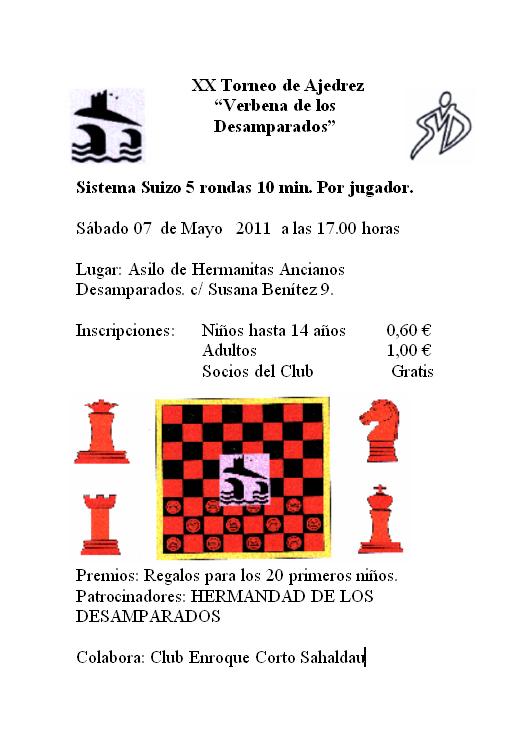 Torneo de Ajedrez Virgen de los Desamparados 2011