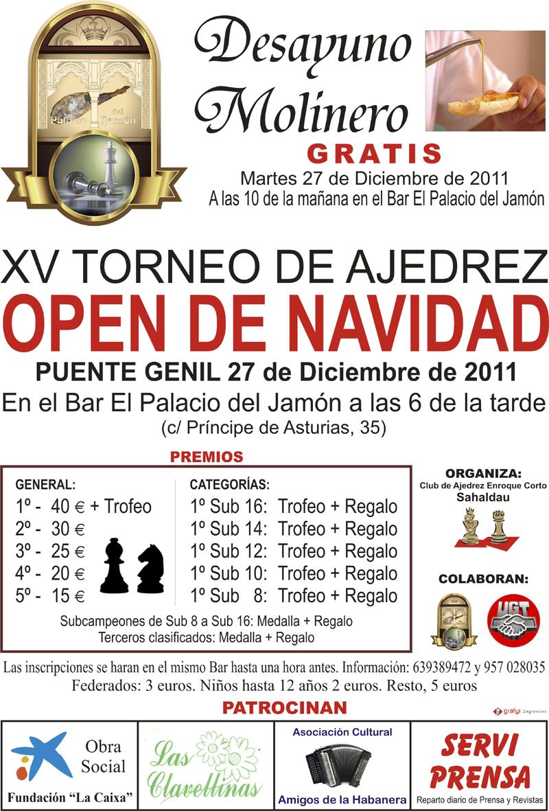 Open de Navidad Puente Genil 2011