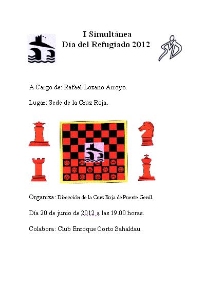 Simultanea Ajedrez Dia Refugiado 2012.