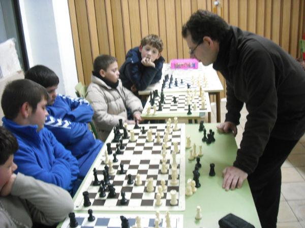 Simultanea Ajedrez Antonio Perez de Siles 2013
