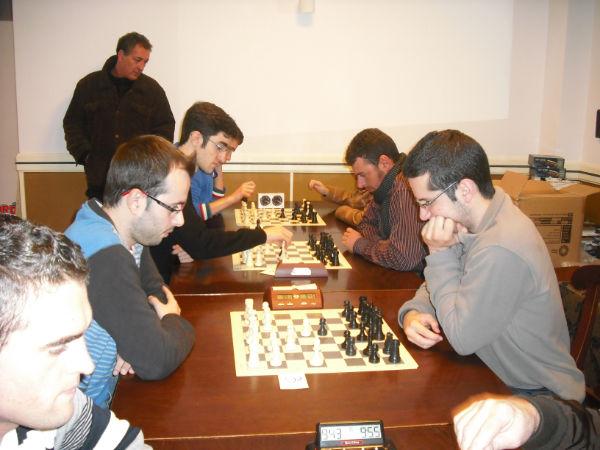 Torneo Ajedrez Navidad Estepa 2012