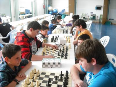 Torneo Ajedrez Juegos Deportivos Municipales Puente Genil 2013