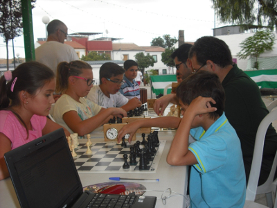 Torneo Ajedrez Hermandad Rosario Verbena Palomar 2015