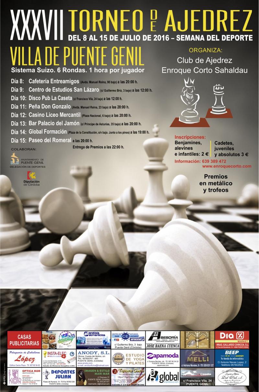 Torneo Ajedrez Villa Puente Genil 2016