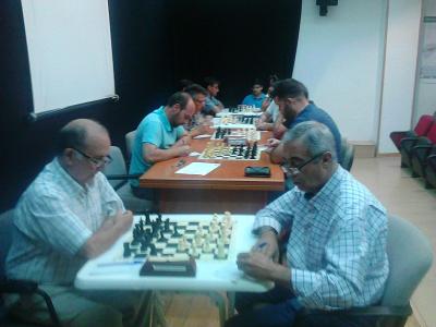 Torneo Ajedrez Provincial Cordoba por Equipos Absoluto 2016 ronda 1