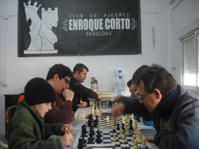 Torneo Ajedrez Interno Club Ajedrez Enroque Corto Sahaldau Puente Genil 2017