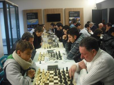 Clasificación Torneo de Ajedrez Open de Navidad de Puente Genil 2017