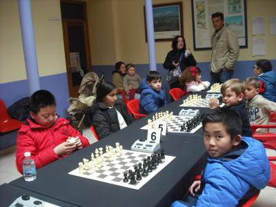 Torneo de Ajedrez Rapido Infantil sub-12 Domingo de Ramos en La Roda de Andalucia 2018